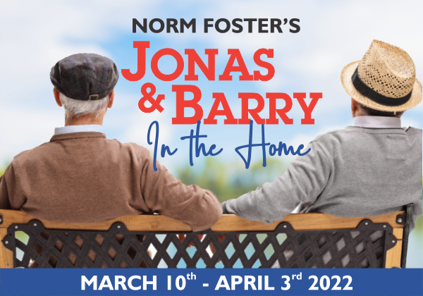 Jonas and Barry in the Home Comedy Dinner Theatre